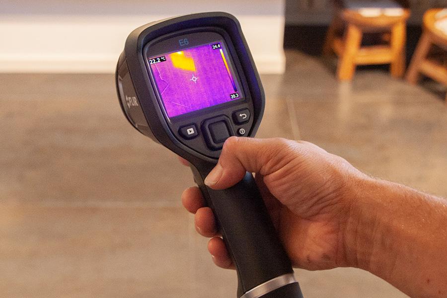 Solv technieken Infrarood thermografie